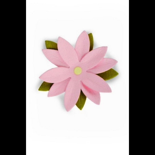 Sizzix Thinlits Die - Pretty flower 661794 Samantha Barnett (04-17)