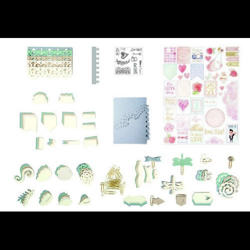 Sizzix DIY Kit - Planner 661895 David Tutera (03-17)
