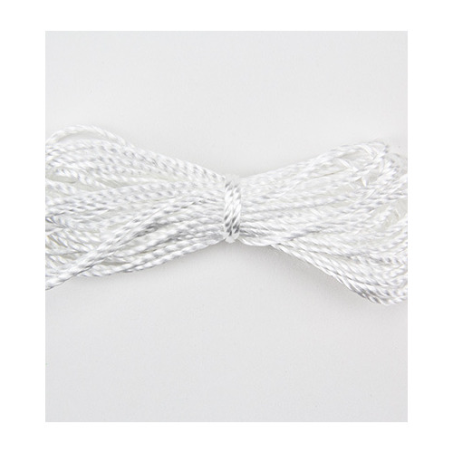 Twisted Cord, White