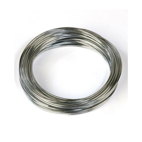 Aluminum Wire, Silver