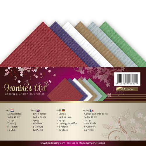 Linnenpakket - A5 - Jeanines Art - Garden Classics