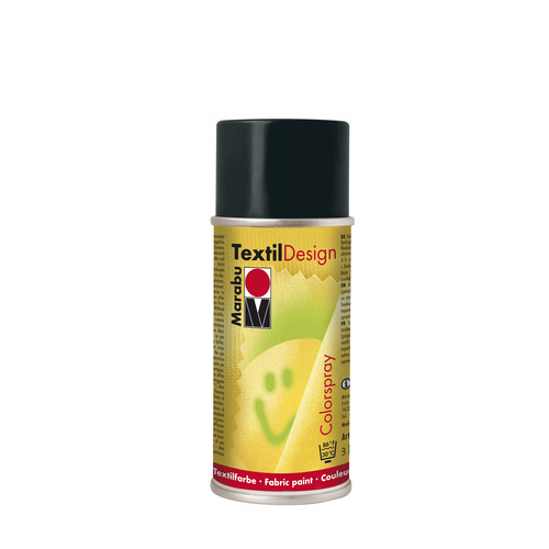 Textildesign 150 ML - Zwart
