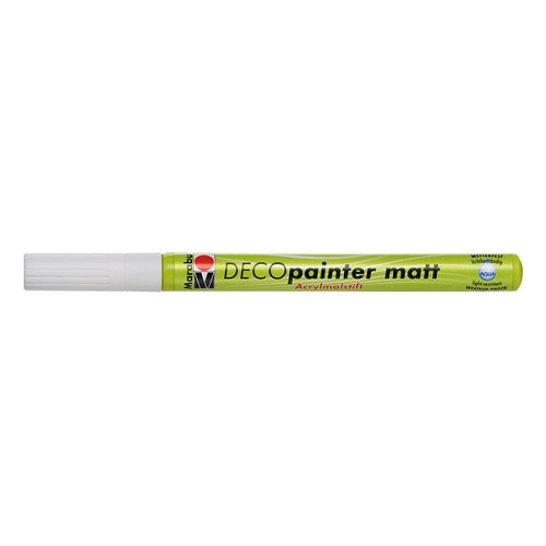 Deco painter 1-2 mm - Wit