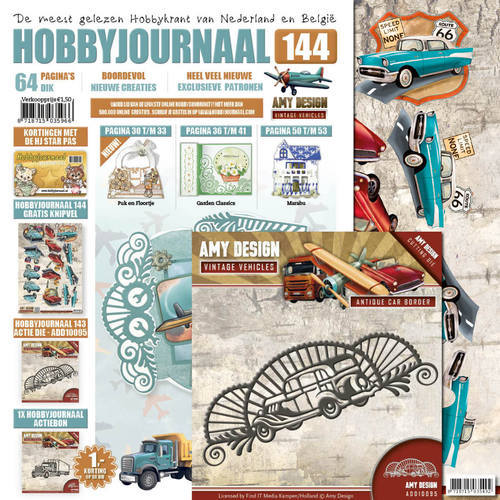 Hobbyjournaal 144 - SET ADD10095