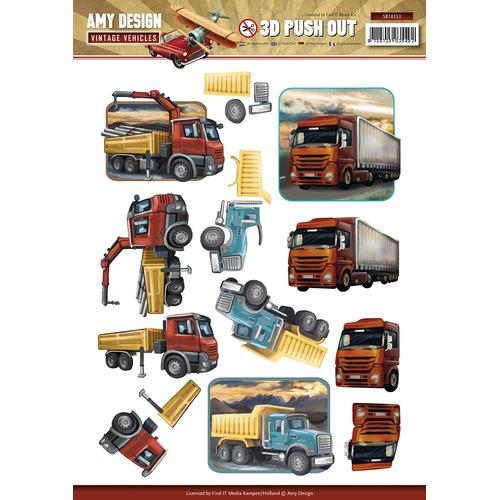 Pushout - Amy Design - Vintage Vehicles
