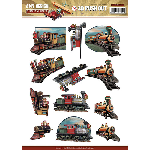 Pushout - Amy Design - Vintage Vehicles