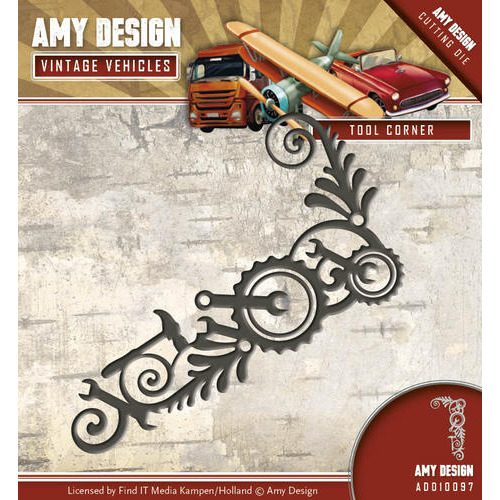 Die - Amy Design - Vintage Vehicles - Tool Corner
