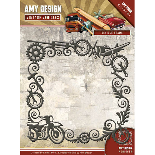 Die - Amy Design - Vintage Vehicles - Vehicle Frame