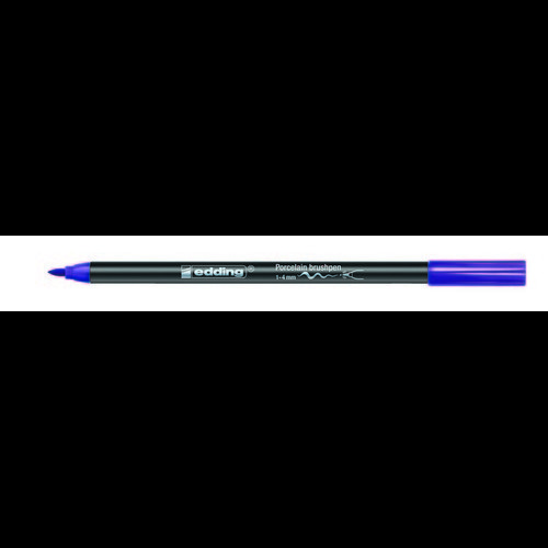 edding-4200 porselein brushpen violet  1ST 1-4 mm /  4-4200008