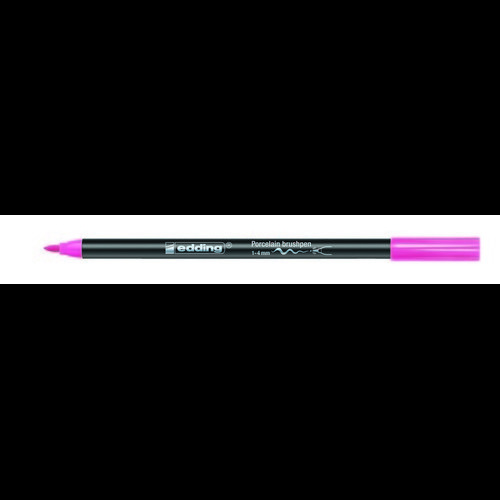 edding-4200 porselein brushpen roze  1ST 1-4 mm /  4-4200009