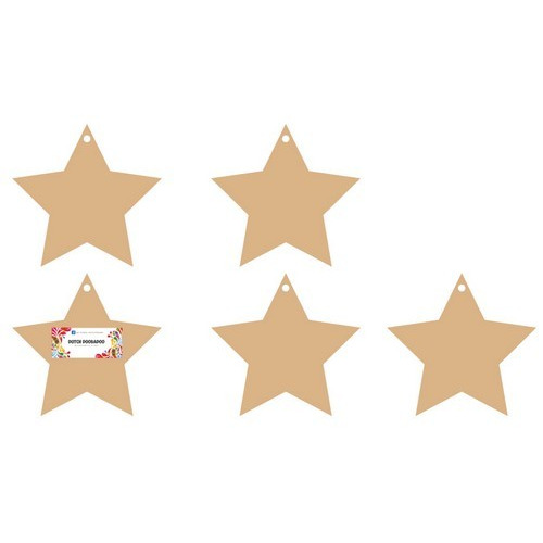 Dutch Doobadoo Dutch MDF art - mini album Stars 120x125mm 3mm 460.440.350 (03-17)