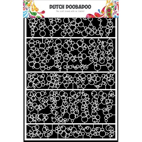 Dutch Doobadoo Dutch Paper Art bubbels A5 472.948.047 (03-17)