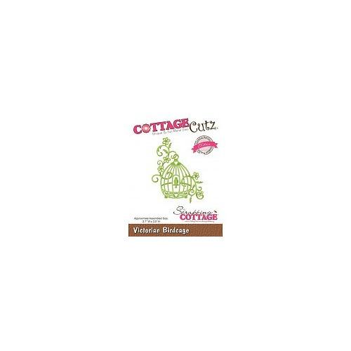 Scrapping Cottage CottageCutz Victorian Birdcage (Elites) (CCE-248)