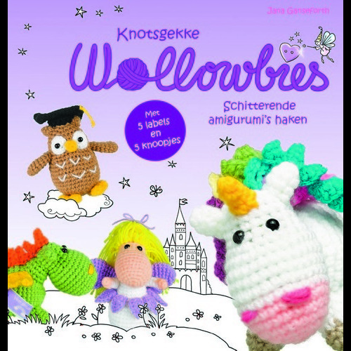 Kosmos Boek - Knotsgekke Wollowbies Ganseforth, Jana (04-17)