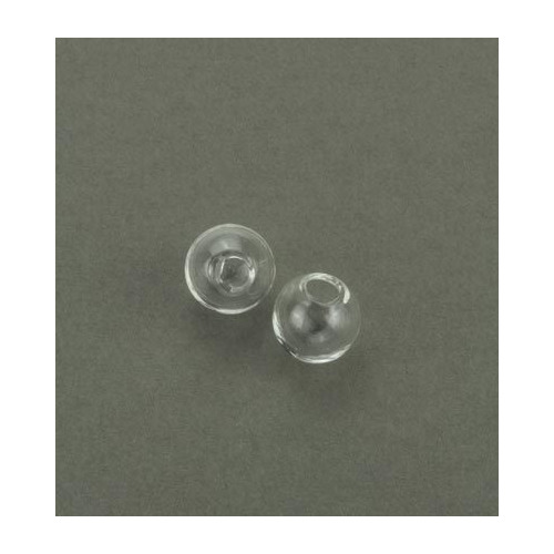 Glass Domes, Clear, 10mm
