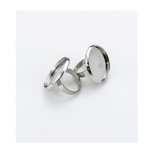 Finger Ring, Top, Platinum