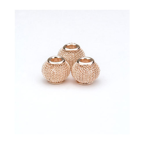 Net Beads, Rose Gold