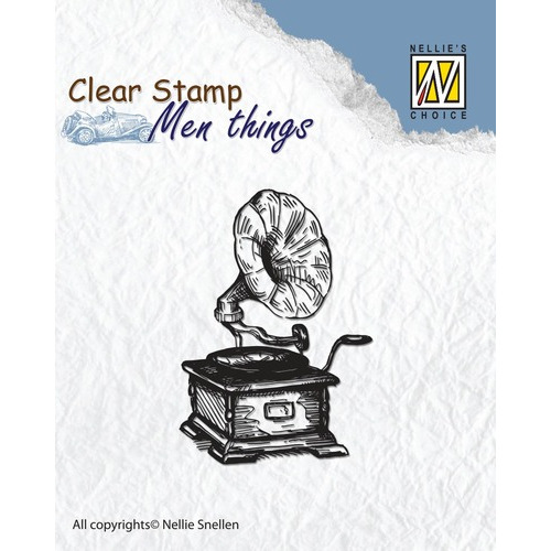 Clear stamps men things Gramophone