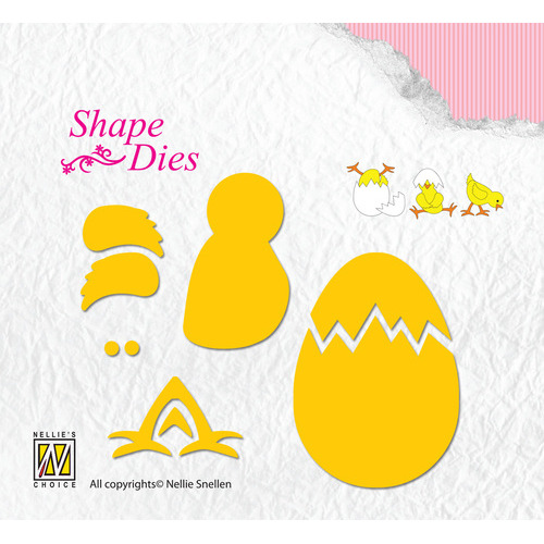 Shape Dies Lene Design build-up chicken & egg