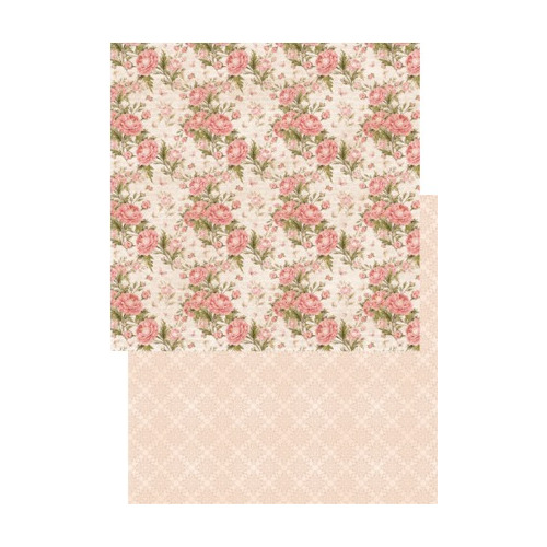 RP0198 Scrap dubbelzijdig 200gr 12x12 My Rose Garden Collection Felicity