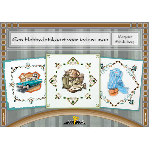 Hobbydols 191 - Een Hobbydotskaart voor iedere man