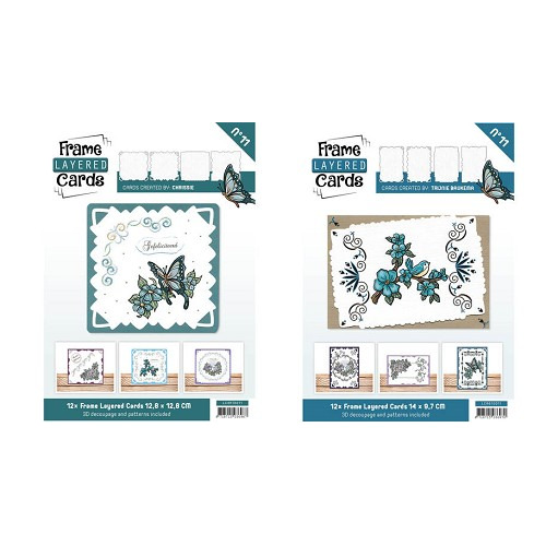 Frame Layered Cards set 11