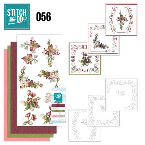 Stitch and Do 56 - Fantastic Flowers