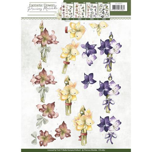 3D Knipvel - Precious Marieke - Fantastic Flowers - Amaryllis