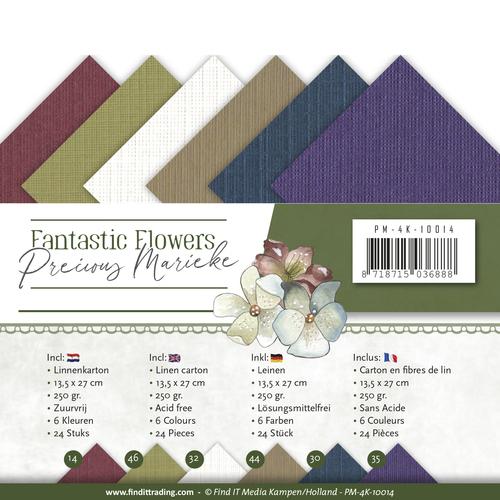 Linnenpakket - 4K - Precious Marieke - Fantastic Flowers