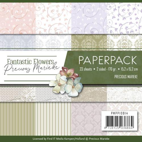 Paperpack - Precious Marieke - Fantastic Flowers