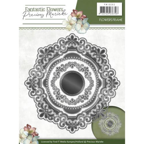 Die - Precious Marieke - Fantastic Flowers - Flowers frame