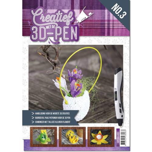 A4 boek - Creatief met de 3D-pen - Pasen