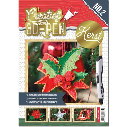 A4 boek - Creatief met de 3D-pen - Kerst