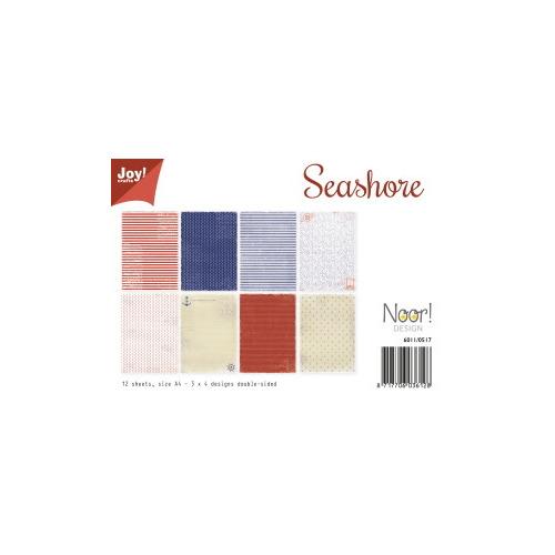 Papierset A4 - Seashore