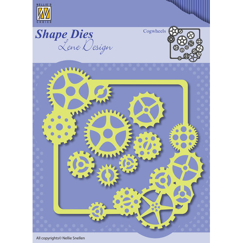 Shape Dies - Lene Design - Men things - Cogwheels