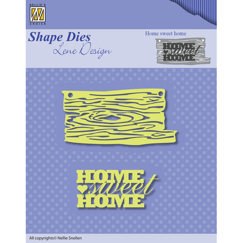 Shape Dies - Lene Design - Men things - Home sweet home