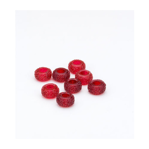 Resin Beads, Red Shades