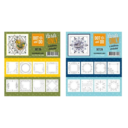Set Cards only dots no.28+29