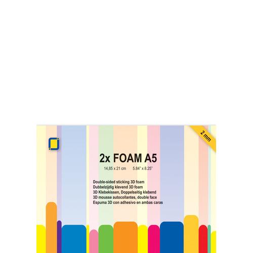3.3242 Foam A5 2 mm 2 sheets
