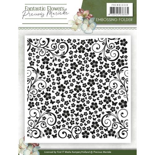 Embossing Folder - Precious Marieke - Fantastic Flowers
