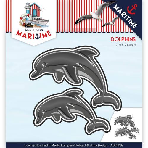 Die - Amy Design - Maritiem - Dolphins