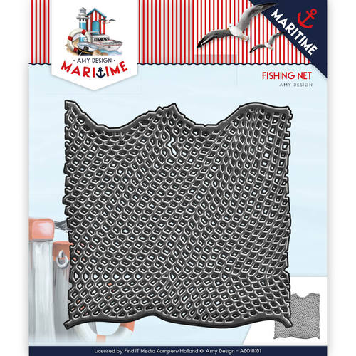 Die - Amy Design - Maritiem - Fishing Net