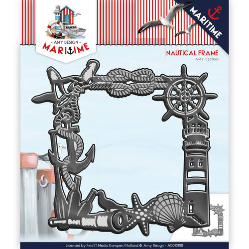 Die - Amy Design - Maritiem - Nautical Frame