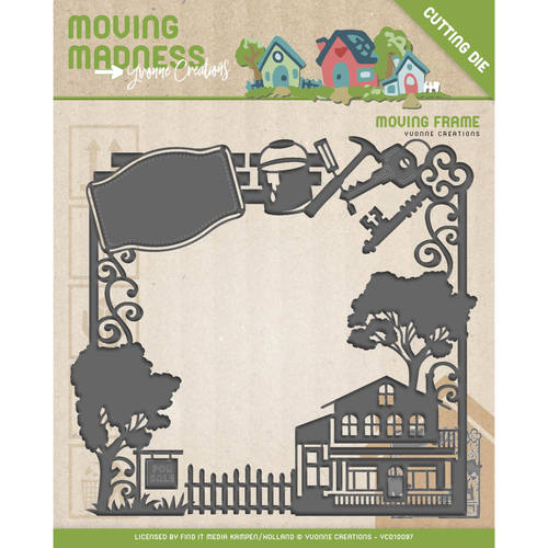 Die - Yvonne Creations - Moving Madness - Moving Frame