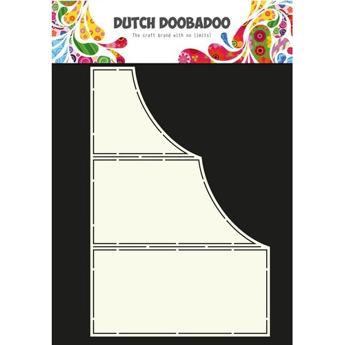 Dutch Doobadoo Dutch Card Art Stencil Z-vouw A4 470.713.625 (04-17)