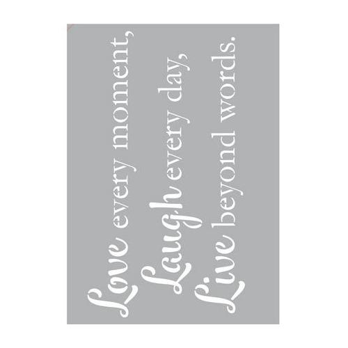 Zelfklevend Text Love