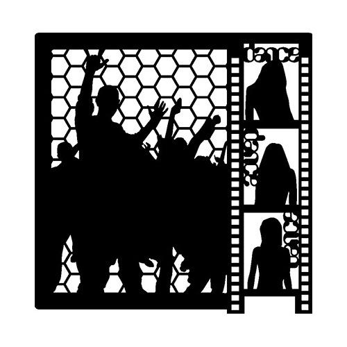 Mask Stencil Dance