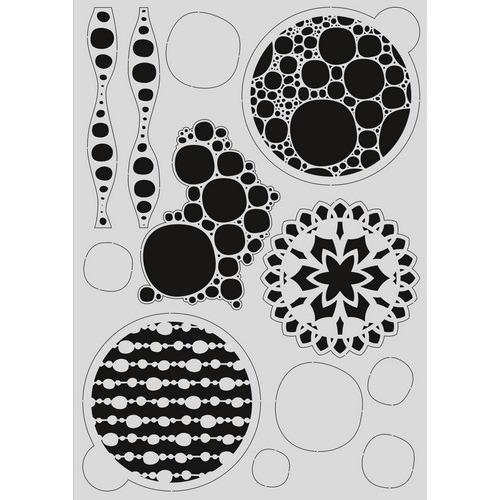 Pronty Mask stencil - Gel bubbel 470.803.035   A4 (03-17)