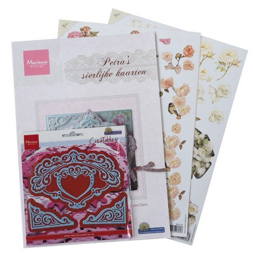 Marianne D Assortiment set Elegant cards 3 PA4044 (05-17)