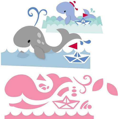 Marianne D Collectable Eline`s walvis COL1430  14,5x20,5 cm (05-17)